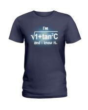 Math Teachers  Ladies T-Shirt thumbnail