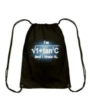 Math Teachers  Drawstring Bag thumbnail