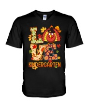 LOVE KINDERGARTEN V-Neck T-Shirt thumbnail