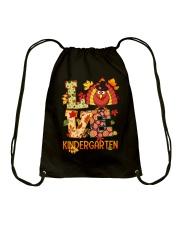 LOVE KINDERGARTEN Drawstring Bag thumbnail