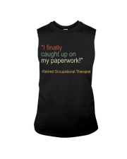 Retired Occupational Therapy Sleeveless Tee thumbnail