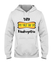 my first day of kindergaten Hooded Sweatshirt thumbnail