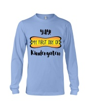 my first day of kindergaten Long Sleeve Tee thumbnail