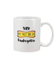 my first day of kindergaten Mug thumbnail