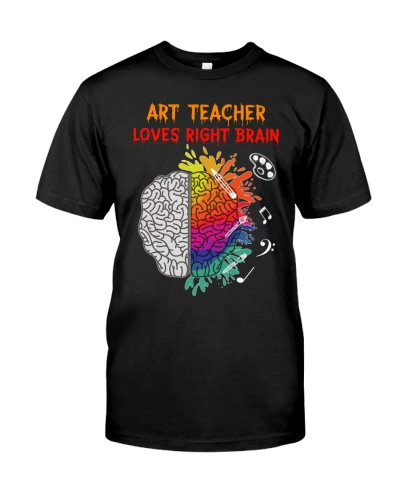 Art Teacher loves right Brain