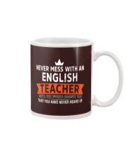 Never mess with an English Teacher Mug thumbnail