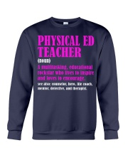Physical Ed Teacher Crewneck Sweatshirt thumbnail