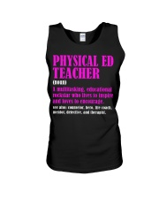 Physical Ed Teacher Unisex Tank thumbnail
