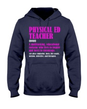 Physical Ed Teacher Hooded Sweatshirt thumbnail