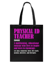 Physical Ed Teacher Tote Bag thumbnail