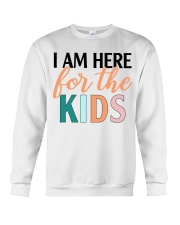 I am here for the kids Crewneck Sweatshirt thumbnail