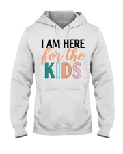 I am here for the kids Hooded Sweatshirt thumbnail