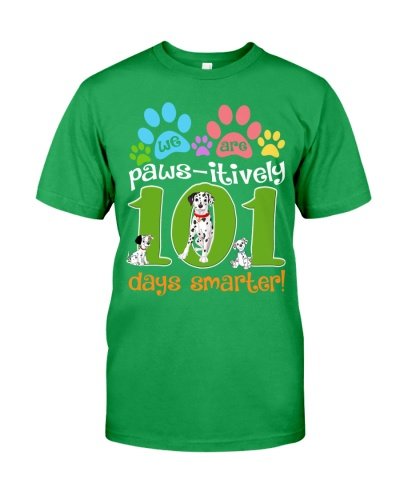 WE ARE PAWS-ITIVELY 101 DAYS SMARTER