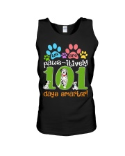 WE ARE PAWS-ITIVELY 101 DAYS SMARTER Unisex Tank thumbnail