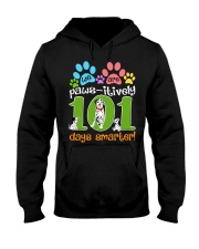 WE ARE PAWS-ITIVELY 101 DAYS SMARTER Hooded Sweatshirt thumbnail