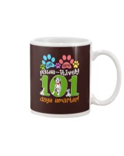 WE ARE PAWS-ITIVELY 101 DAYS SMARTER Mug thumbnail
