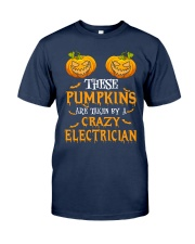 Perfect For Electrician Halloween Classic T-Shirt thumbnail