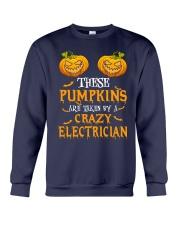 Perfect For Electrician Halloween Crewneck Sweatshirt thumbnail