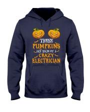 Perfect For Electrician Halloween Hooded Sweatshirt thumbnail