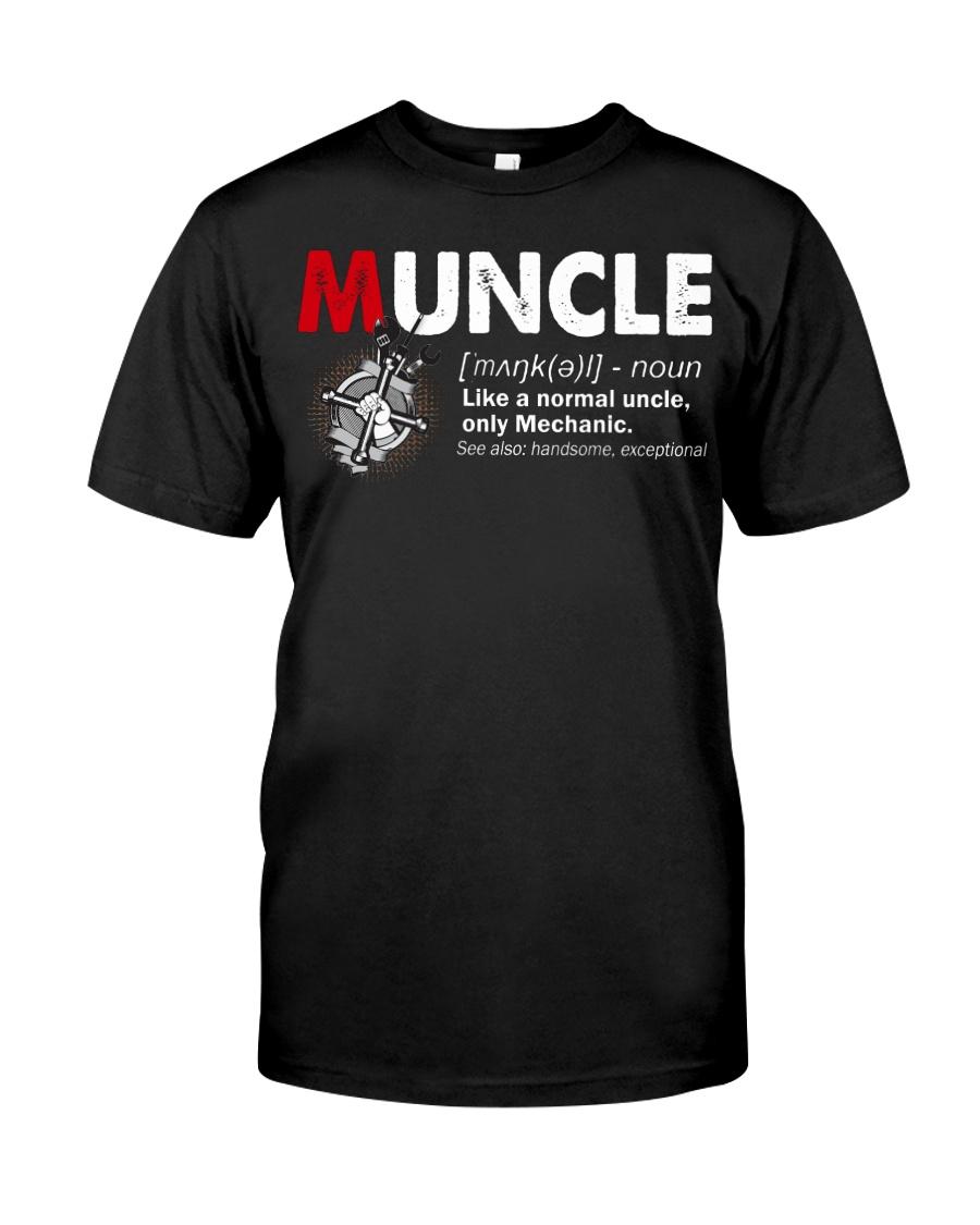 Muncle Mechanic Classic T-Shirt