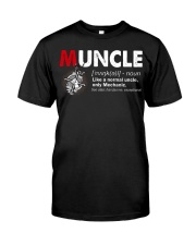 Muncle Mechanic Classic T-Shirt front