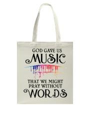 God Gave US MUSIC Tote Bag thumbnail