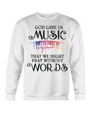 God Gave US MUSIC Crewneck Sweatshirt thumbnail