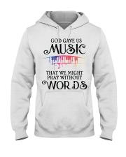 God Gave US MUSIC Hooded Sweatshirt thumbnail