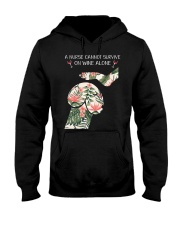 A Nurse cannot survive on wine alone Hooded Sweatshirt thumbnail