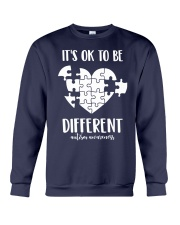 IT'S OK TO BE DIFFERENT Crewneck Sweatshirt thumbnail