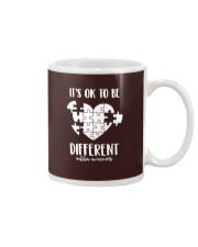 IT'S OK TO BE DIFFERENT Mug thumbnail