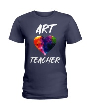 Art Teacher T-Shirt Ladies T-Shirt thumbnail
