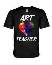 Art Teacher T-Shirt V-Neck T-Shirt thumbnail