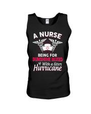 A Nurse Being a sunshine mixed Unisex Tank thumbnail