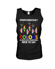 COMPLEMENTARY COLORS ALWAYS GOT SOMETHING  Unisex Tank thumbnail