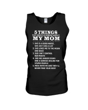 5 Things you should know about My Mom Unisex Tank thumbnail