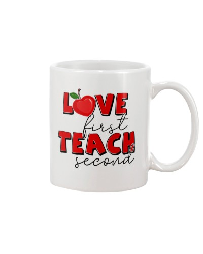LOVE FIRST TEACH SECOND