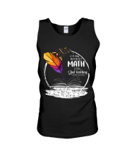 A DAY WITHOUT MATH IS LIKE JUST KIDDING  Unisex Tank thumbnail