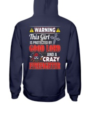 Crazy Firefighter Hooded Sweatshirt thumbnail