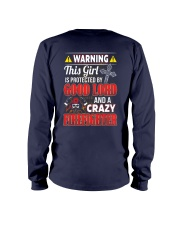 Crazy Firefighter Long Sleeve Tee thumbnail