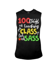 100 DAYS OF TEACHING MY CLASS WITH A LOT OF SASS Sleeveless Tee thumbnail