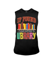 IF FOUND LIBRARY Sleeveless Tee thumbnail