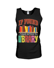 IF FOUND LIBRARY Unisex Tank thumbnail