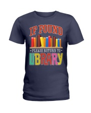 IF FOUND LIBRARY Ladies T-Shirt thumbnail
