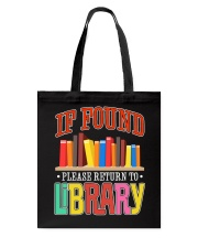 IF FOUND LIBRARY Tote Bag thumbnail