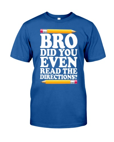 BRO DID YOU EVEN READ THE DIRECTIONS