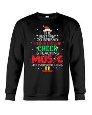 THE BEST WAY TO SPREAD CHRISTMAS CHEER Crewneck Sweatshirt thumbnail