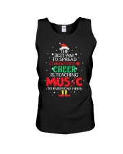 THE BEST WAY TO SPREAD CHRISTMAS CHEER Unisex Tank thumbnail
