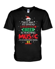 THE BEST WAY TO SPREAD CHRISTMAS CHEER V-Neck T-Shirt thumbnail