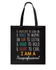 I am a Paraprofessional Tote Bag thumbnail